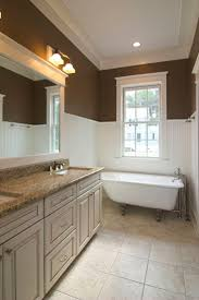 chocolate brown bathroom ideas best paint on colors small and blue