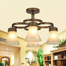 Large Semi Flush Ceiling Lights Light Glass Shade Large Semi Flush Ceiling Lights For Bedroom