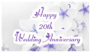 20th wedding anniversary sparkling 20th wedding anniversary ecard greetingshare