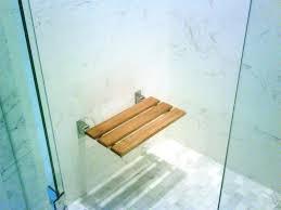 Teak Shower Seat Amazing Teak Shower Seat Invisibleinkradio Home Decor