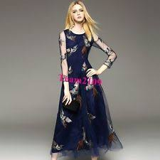 full length lace long sleeve tall maxi dresses for women ebay