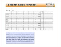 Sales Forecast Spreadsheet Exle by 8 Sales Forecast Spreadsheet Procedure Template Sle