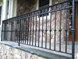 wrought iron railing design space landscaping
