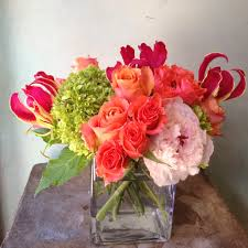 send flowers nyc peachy pink in new york ny blue water flowers