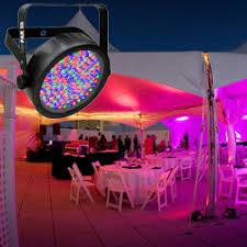 chauvet slimpar 56 led light chauvet dj slimpar 56 led par can stage light with 108 red green and