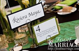 Ideas For Wedding Table Names Wedding Wednesday Naming Your Tables At The Reception Food Marriage