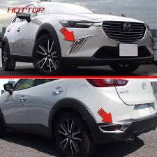 2016 mazda 3 fog light kit front rear fog light cover for mazda cx 3 2016 2017 rear bumper