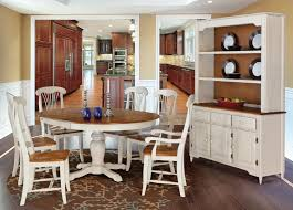 kitchen two tone dining room tables intended for remarkable two
