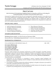 law enforcement resume objective resume objective for law
