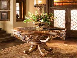 Round Foyer Table by Elegant Round Foyer Table Round Foyer Table Decorating Ideas