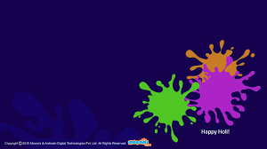 Wallpaper For Kids by Holi Colour Splash Desktop Wallpapers For Kids Mocomi