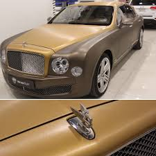bentley car gold wrapstyle riyadh on twitter