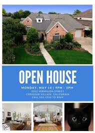 flyer property free customizable open house flyers downloadable templates