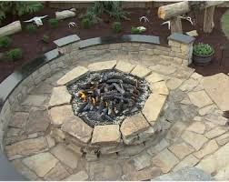 Fire Pit Crystals by Backyards Gorgeous Custom Conctemporary Outdoor Fire Pit With