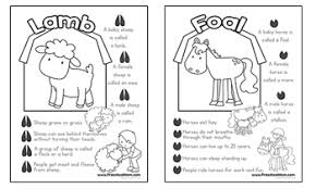 farm preschool printables