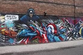 avengers superhero theme graffiti wall youtube