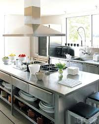 stainless steel kitchen island with seating ikea kitchen island stainless steel drawers snaphaven