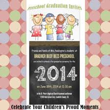 Invitation Cards For Graduation End Of Year Graduation Archives Nuttin U0027 But Preschool