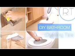 how to make natural bathroom cleaner diy natural bathroom cleaning tips youtube