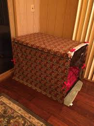 Diy Sofa Slipcover No Sew by Dog Crate Cover No Sew Or Sew Whimseybox Diy Pinterest