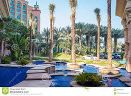dubai summer 2016 parking luxury cars in front of the hotel