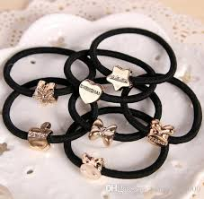 2017 hair jewelry rubber band rope hair ornaments high