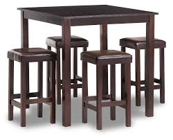 Payton  Pc Counter Height Dining Room Set Furniture Row - Countertop dining room sets