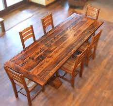 reclaimed wood dining room table harvest table bing images more