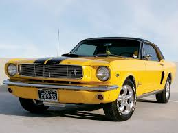 Yellow Mustang With Black Stripes 1966 Ford Mustang 6 Cylinder Mustang U0026 Fords Magazine