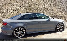 slammed audi a3 audi exclusive nardo grey a3 s line sedan be jealous be very