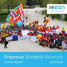 erasmus student network annual report 2013 2014 by erasmus