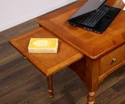 plateau bois bureau bureau 1 2 ministre en merisier massif de style louis philippe