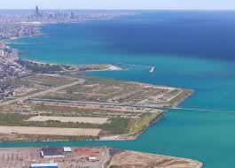 Aerial Map Of Chicago by Chicago Lakeside Development Mega Project Abandoned As Developer
