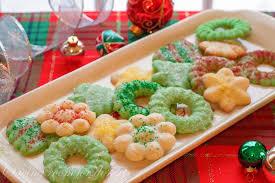 spritz cookies saving room for dessert