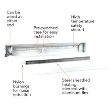 baseboard baseboard heater electric thermostat marley wiring