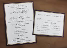 formal wedding invitations purple gold border formal wedding invitations emdotzee