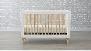 Babyletto Convertible Crib Babyletto Lolly White 3 In 1 Convertible Crib In Cribs