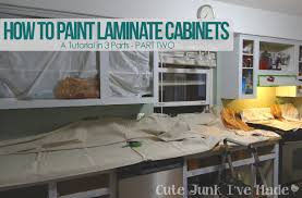 Painting Over Painted Kitchen Cabinets Can I Paint Over Laminate Kitchen Cabinets Gramp Us