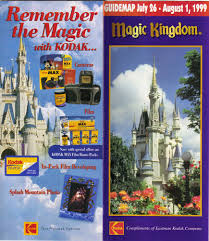 Magic Kingdom Map Orlando by Magic Kingdom Guidemaps 2000 1996 Page 4