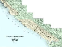 Map Of Sonoma County William Benitz California Rancher Maps
