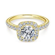 rings gold images Yellow gold engagement rings gabriel co jpg