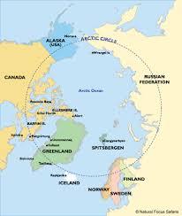 Arctic Ocean Map Arctic Circle Map Arctic Circle Wikipedia Px Arctic Circle