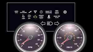 peterbilt dash warning lights international workstar dashboard lights youtube