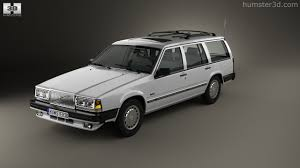 360 view of volvo 745 kombi 1985 us 3d model hum3d store