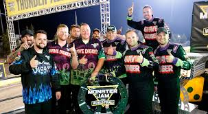 Congratulations Team Grave Digger Monster Jam World Finals Xvii