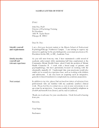 Real Estate Letter Of Intent Template by Sample Letter Of Intent For Application Accreditation In