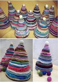 handmade christmas handmade christmas trees felt pieces colourful