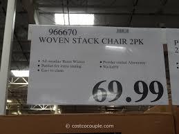 Wicker Patio Furniture Costco - resin wicker bistro chairs