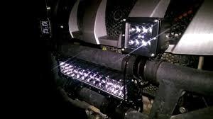 Four Wheeler Light Bar Cree Led Light Bar 3 Inch Not 4 And A 14 Inch On A Yamaha Rhino
