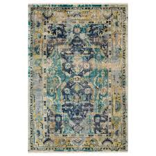 surya festival night hand knotted wool rug
